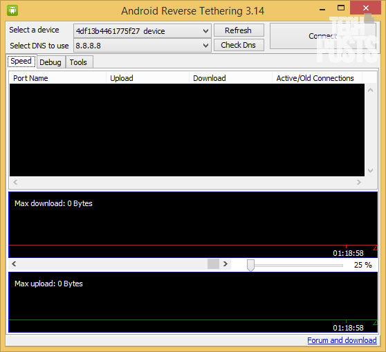 Android-reverse-tethering-tool-windows