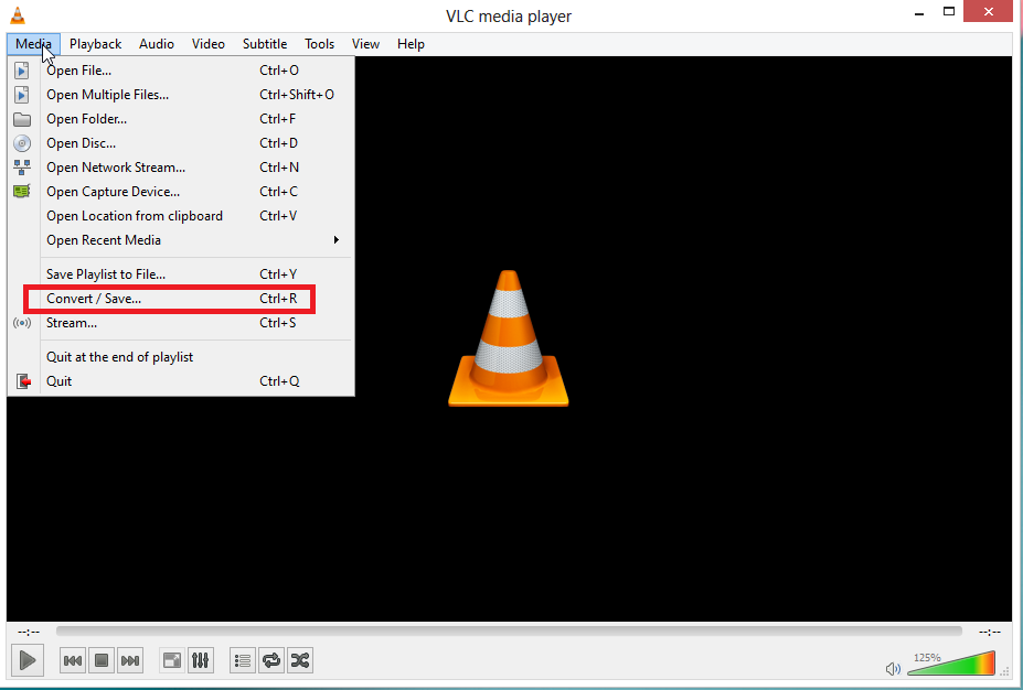 click on open advanced  How to Extract Audio from Video files using VLC Media Player
