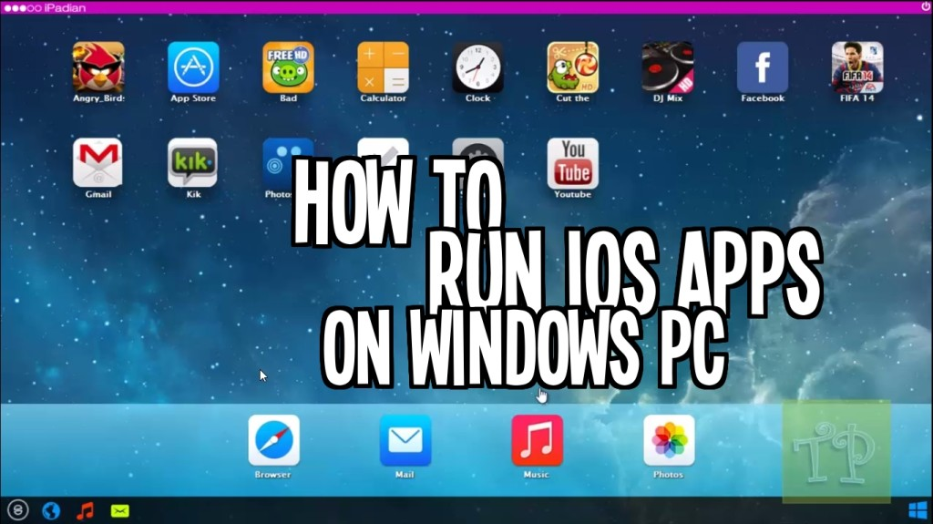 How to Guide : Running iOS Apps on PC (Apps and Games)