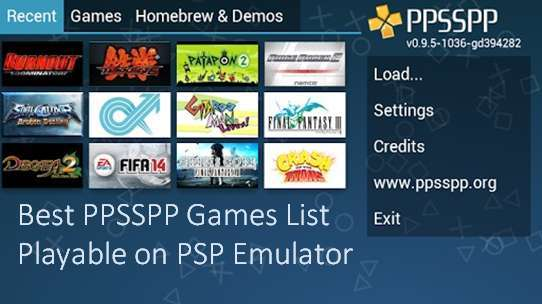 List Of Ppsspp Supported Psp Games Free To Download