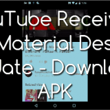 YouTube Receives Its Material Design Update - Download APK