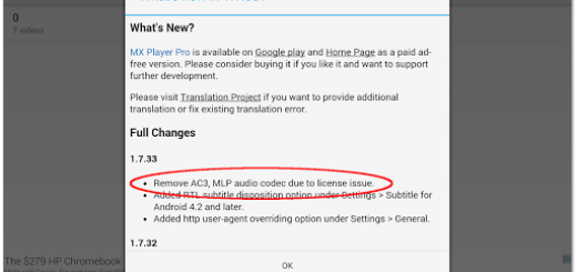 MX Player Support DTS and AC3 Audio using Custom Codec- How To