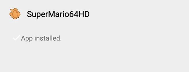 super mario 64 emulator for android