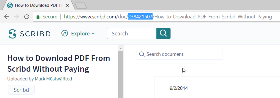 How to Download Documents from Scribd for free 2019 - 100% Working