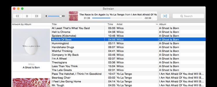 Swinsian - iTunes Altenative for Mac