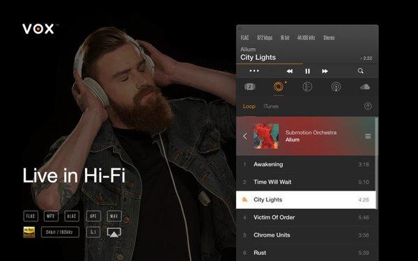 VOX - iTunes Altenative for Mac and iOS