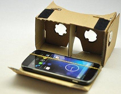 Making own DIY Google Cardboard or VR Headset