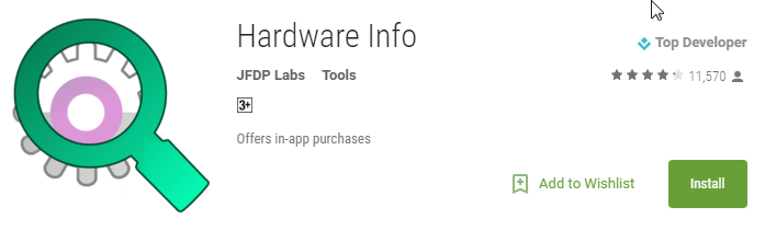 Hardware Info - Android Apps on Google Play
