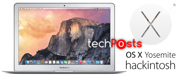How to Install Mac OS X 10.10 Yosemite On A Windows PC 1