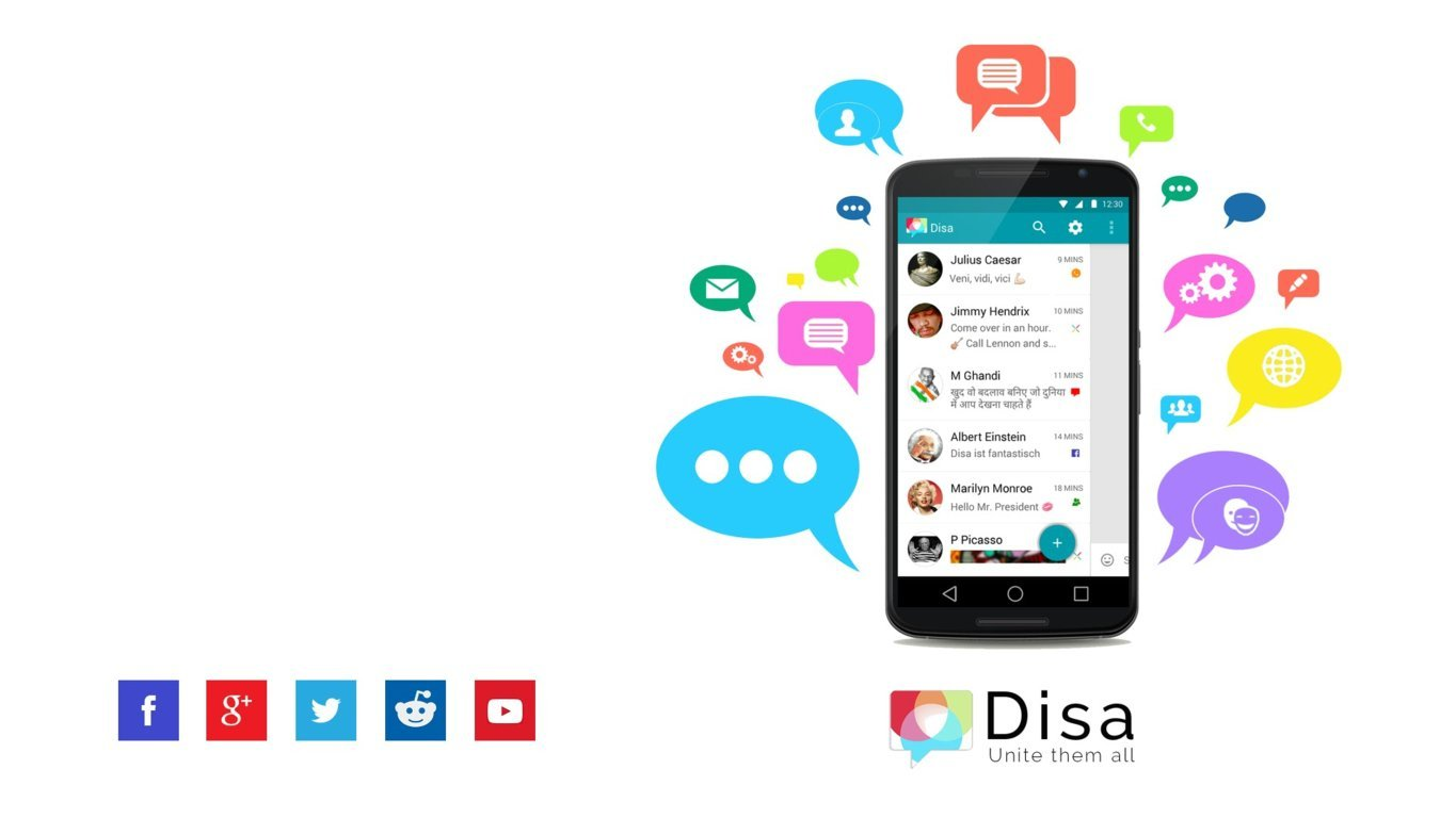 DISA - All in One Messenger for Android