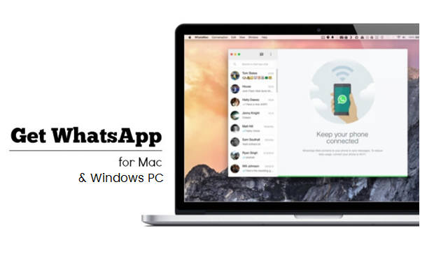 Get Whatsapp for Mac and Windows PC