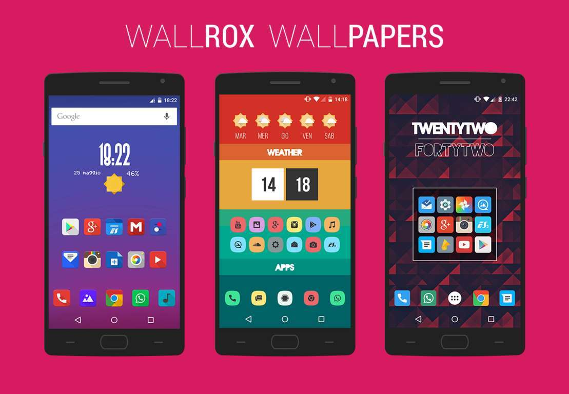 WallRox Free Premium HD Wallpapers for Android