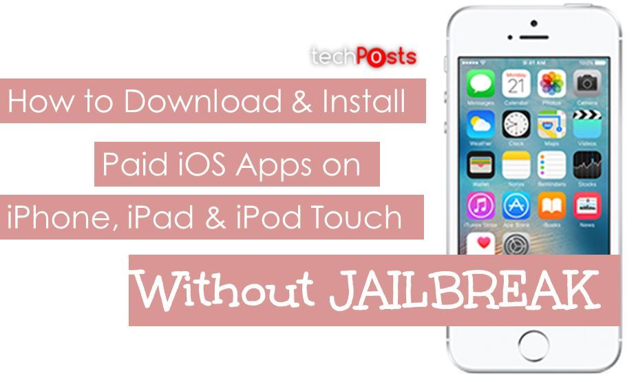 How to Install Paid iOS Apps on iPhone or iPad for Free - No