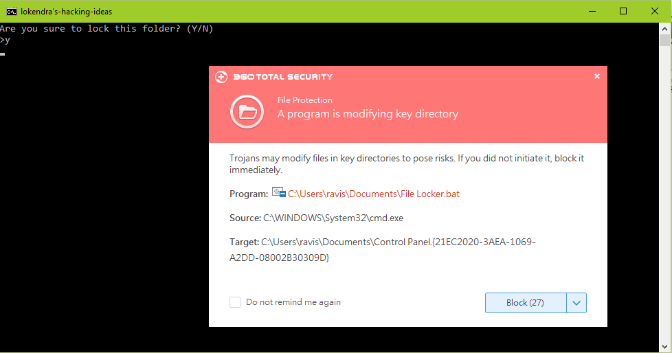 If you get any warnings from your Antivirus, please allow the access