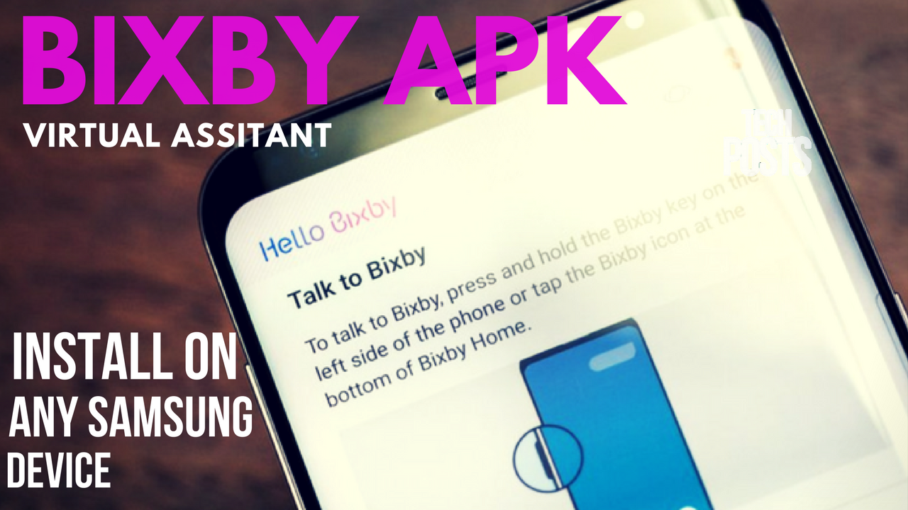 Bixby APK for Android Nougat Samsung