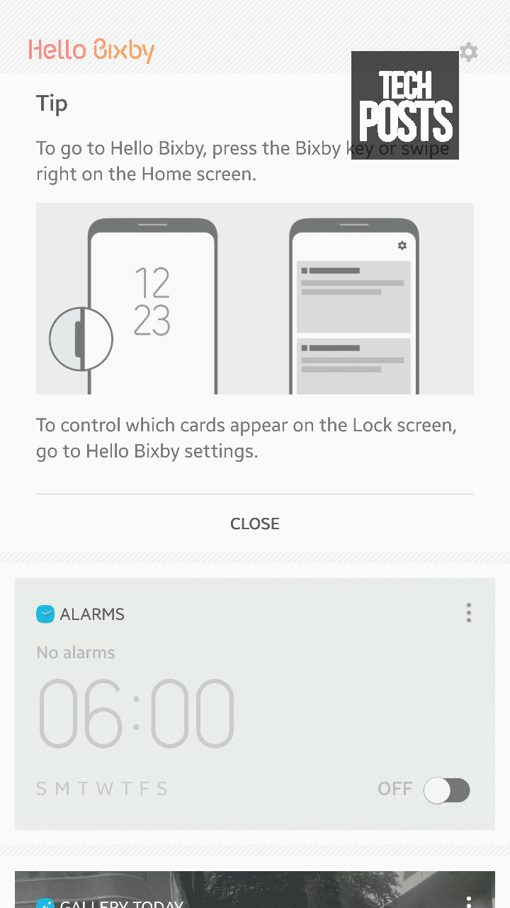 Bixby Running on Android