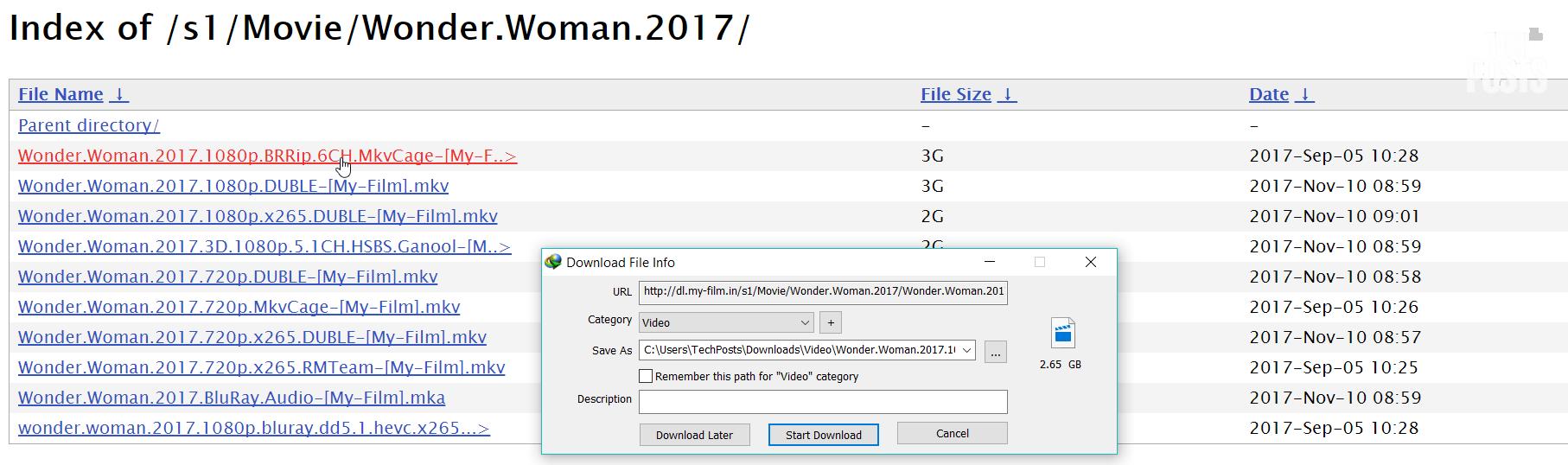 Index of _s1_Movie_Wonder.Woman.2017 Downloading