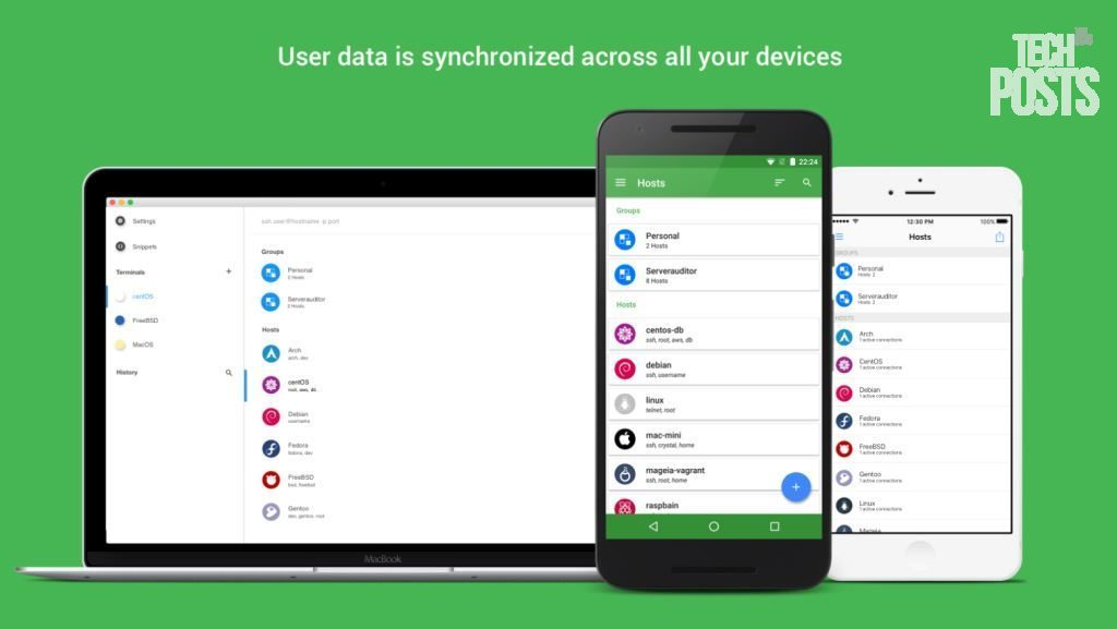 Termius SSH Putty Alternative for Mobile