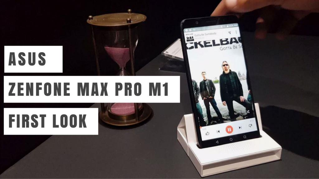 Asus Zenfone Max Pro - First Look and Impressions