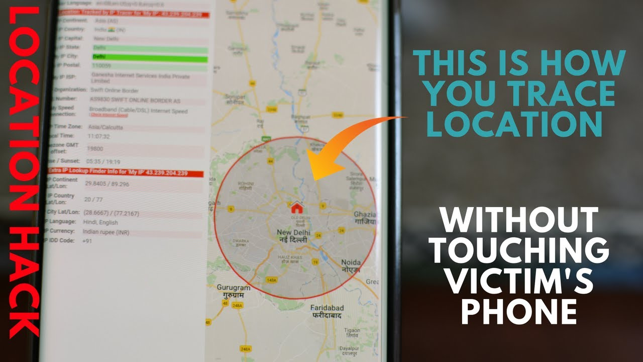 Trace location of aphone number and a Person secretly