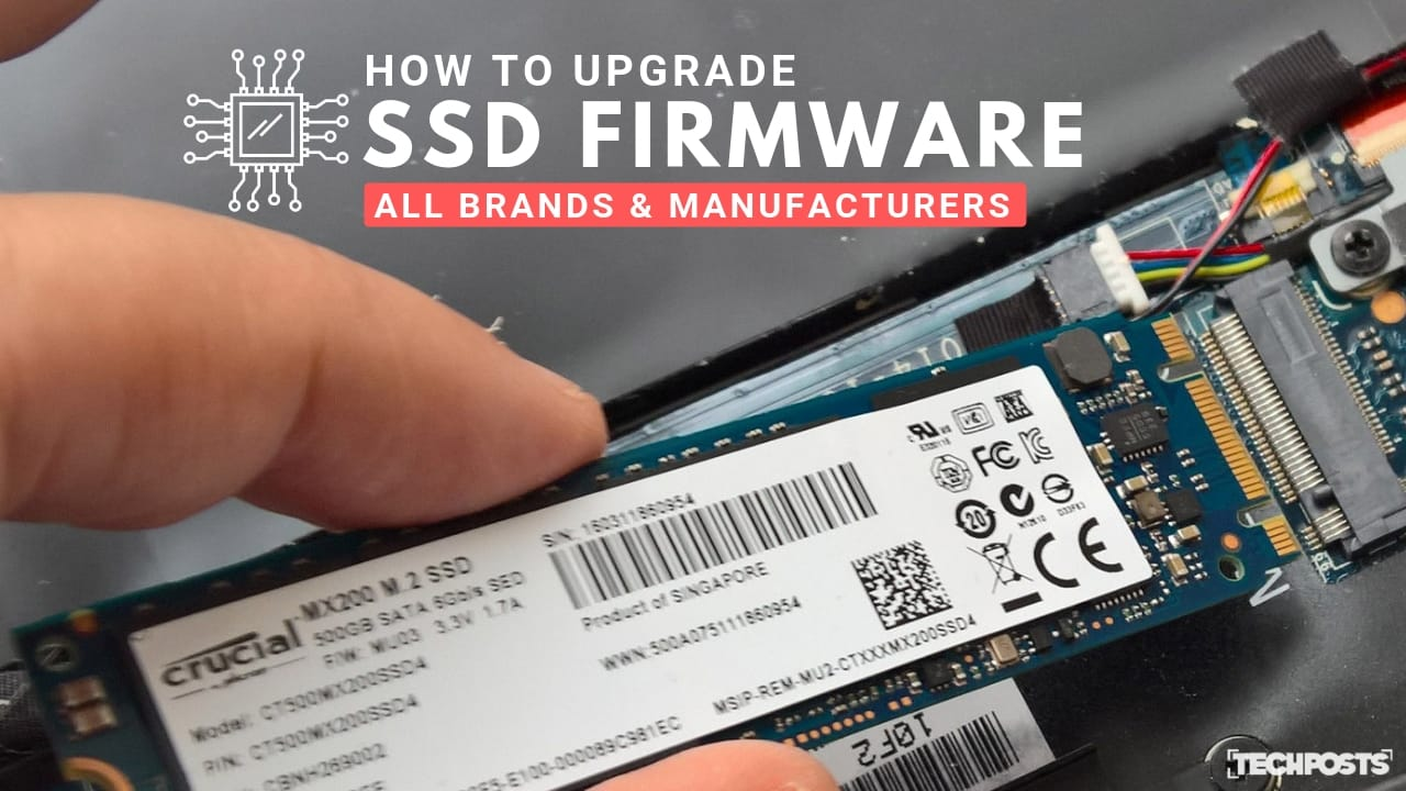 How to upgrade SSD Firmware All Brands and Manufacturers