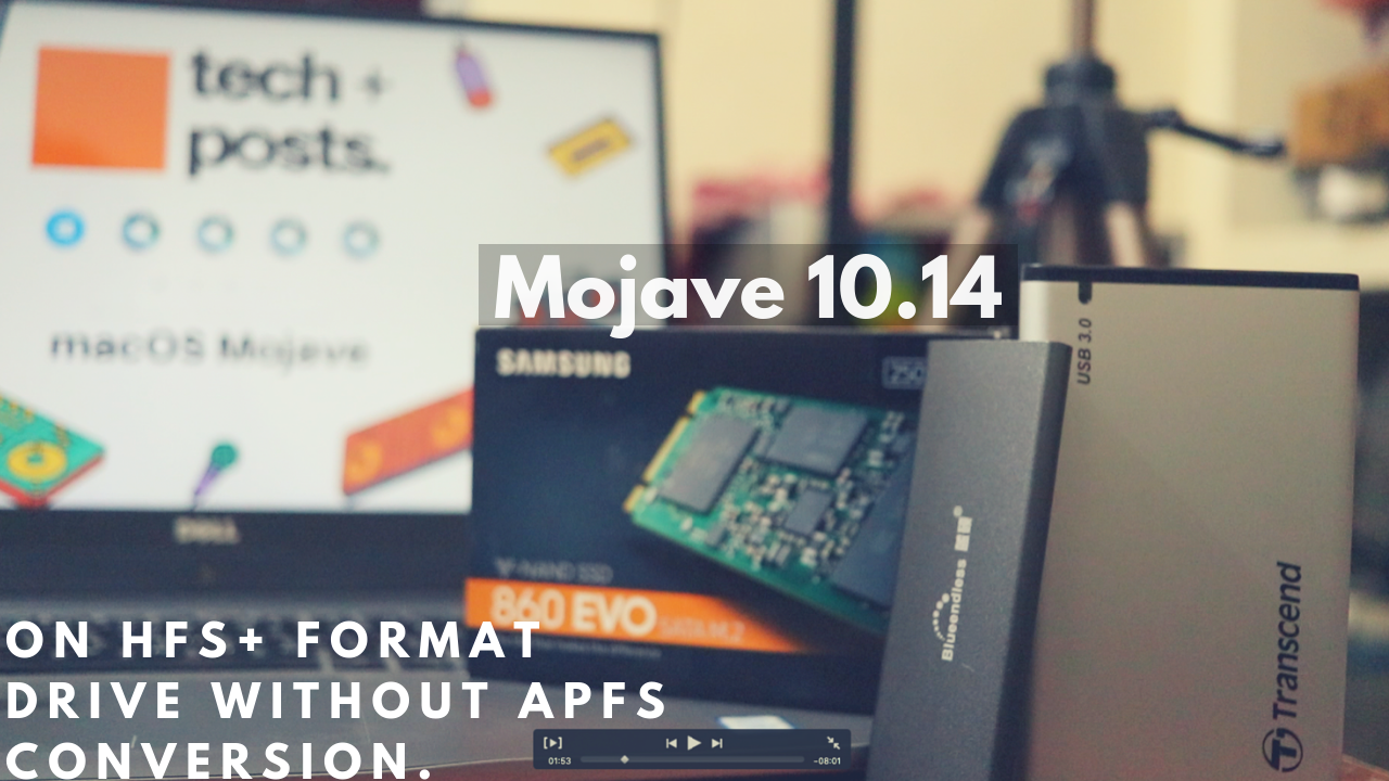 How to Install macOS Mojave on HFS+ and Avoid APFS 7