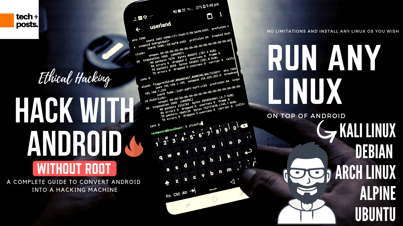 Kali Linux For Android | Hack Websites, Blogs, WiFi and More with Android 1