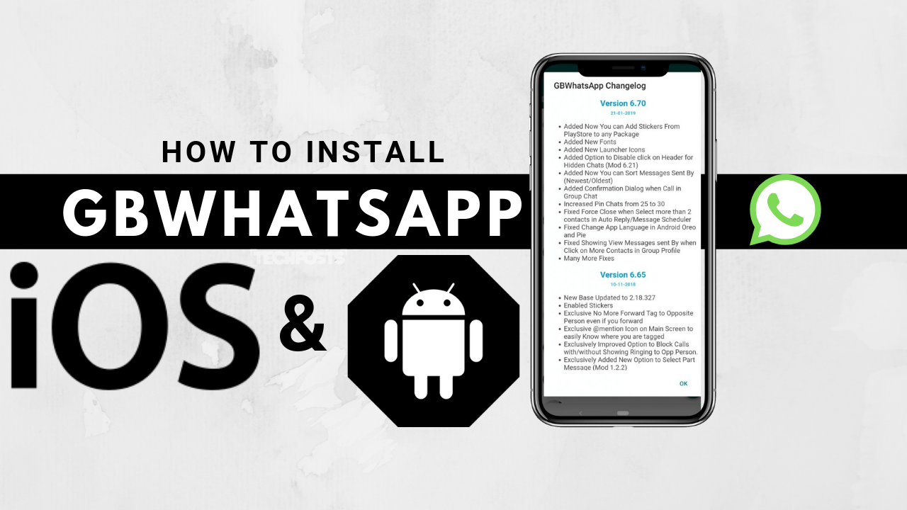How To Install GBWHatsapp on Android and iOS devices