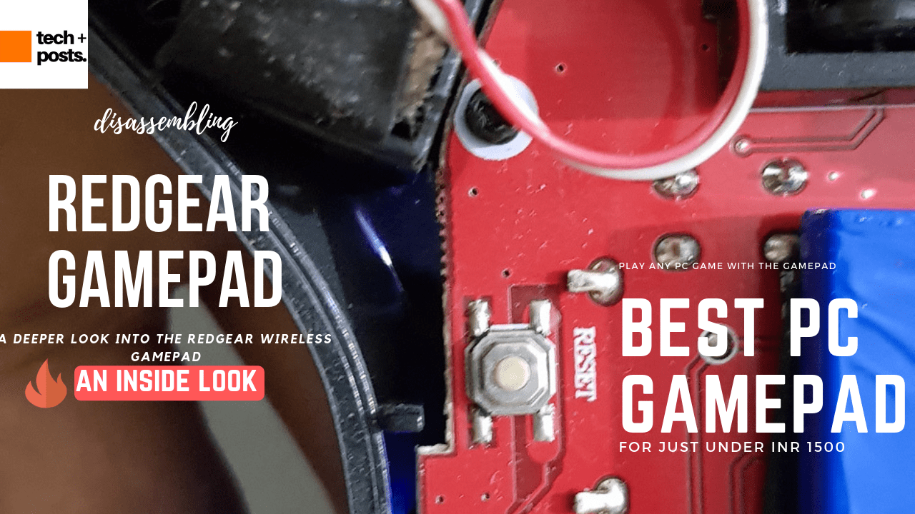 Redgear Pro Wireless gamepad review unbox and look inside