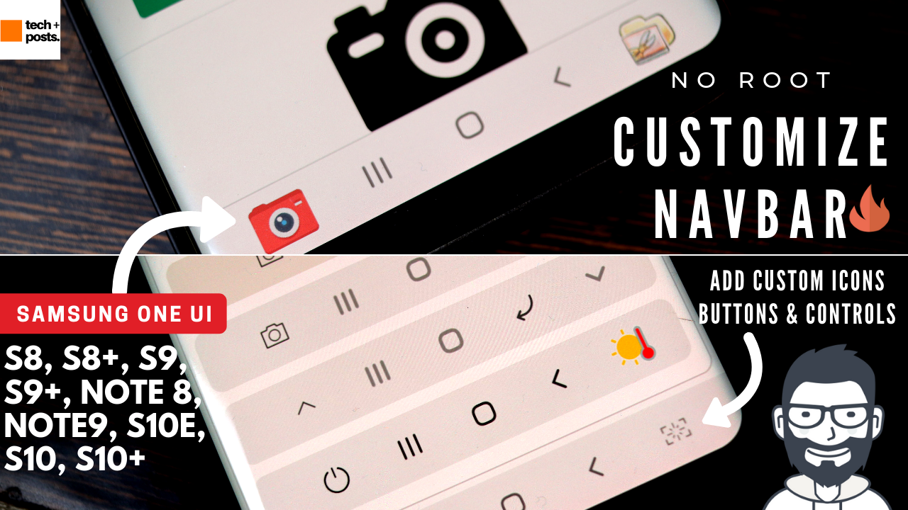 Customize Samsung One UI Navigation Bar without Root or PC 2