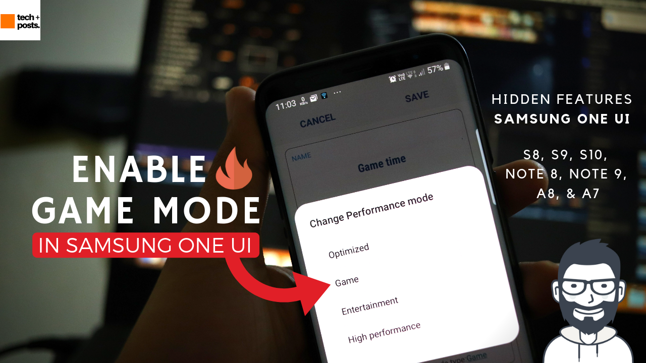 How to Enable Game mode in Samsung One uI